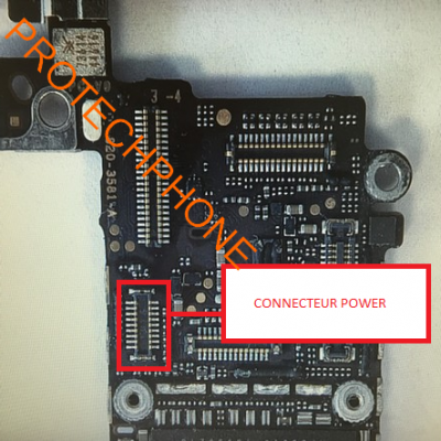 CONNECTEUR NAPPE POWER iphone 5C