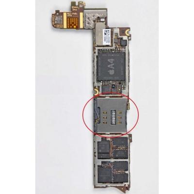 CONNECTEUR SIM iphone 4