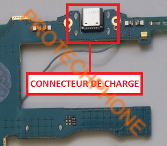 Connecteur De Charge Galaxy Tab SM-T337