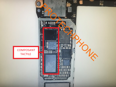 Réparation du tactile écran iPhone 6 PLUS